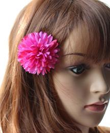 flores artificiais para grampos de cabelo Desconto Moda Bohemia Grampos de Cabelo 6.5 cm / 1.38