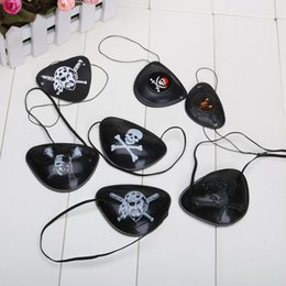 Wholesale Wholesale Pirate Eye Patch - One Piece Halloween masquerade accessories pirate eye patch Cosplay eye patch