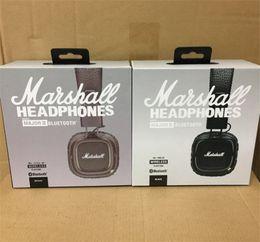 Marshall Major II 2.0 Беспроводная связь Bluetooth черный коричневый Наушники DJ Studio Ударная гарнитура Наушники Deep Super Bass Noise Isolating Headphone от Поставщики бить bluetooth