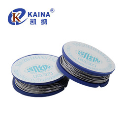 Wholesale Welding Wiring - 20PCS tin rosin core solder wire welding factory direct 63 37 0.8mm