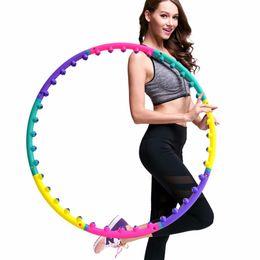 Círculos do ímã on-line-Círculo Tubo atacado- Lightweight Magnet destacável Anel de cintura Slimming Saúde Body Building Equipment