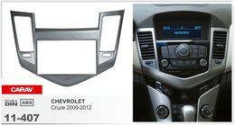 Wholesale Cruze Dash - CARAV 11-407 Car Radio Fascia for CHEVROLET Cruze 2009-2012 (Silver) Stereo Dash CD Facia Trim Installation Kit
