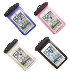 Wholesale Waterproof Case Swimming - 20*10.5cm Waterproof Phone Bag PVC touch screen durable Waterproof Phone Cases Underwater Phone Bag Swim Diving Pouch Bag case D330 20