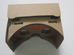 2019 бесплатный vr-картон 50штDHL Бесплатный магнит DIY Shippig Google Картон Виртуальная реальность VR Мобильный телефон 3D-очки для просмотра 5.0