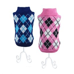 Wholesale Pitbull Jacket - Free Shipping Pet Clothes Dog Sweater Autumn Winter Warm Knitting Crochet Clothes For Dog Chihuahua Dachshunds Pitbull Wholesale