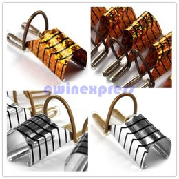 Wholesale Guide Tips - 5pcs Nail Art Reusable UV Gel Acrylic French Tips Extension Guide Forms Tips