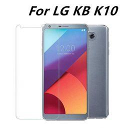 Wholesale Lg E455 - High-quality Tempered Glass Screen Protector For LG KB K10 V10 RAY E435 E470 E455 Googel 5 5x 6 Free shipping