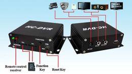 Wholesale Dvr Sd Cctv Recorder - HC-DVR Dual Card 128GB Large Storage TF   SD Card Mini DVR 1CH Video+1CH Audio H.264 HDMI USB CCTV Camera Video Recorder