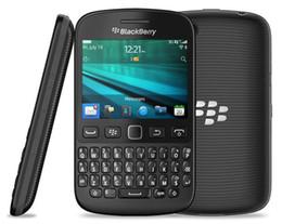 """Обновленные мобильные телефоны qwerty онлайн-Восстановленный оригинальный BlackBerry 9720 разблокирован сотовый телефон QWERTY клавиатура BlackBerry OS 7.1 2.8"""" 5MP 3G"""