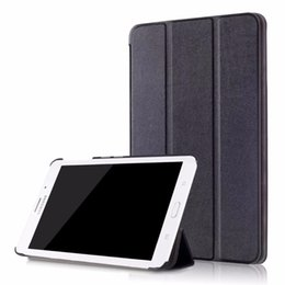 Wholesale tab tablet - New stand PU Leather Case Tablet Auto Sleep Wake Up For Samsung Galaxy Tab A A6 7.0'' 7.0 T280 T285DY Ultra Slim Flip Cover +pen