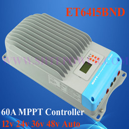 Wholesale Ep Solar - 60A eTracer ET6415 MPPT Solar Charge Controller, 60amps ET6415BND 12V 24V 36V 48V EP Solar Battery Charge Controller Regulators