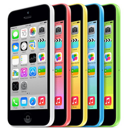 Wholesale 5c Unlock - Refurbished Apple iPhone 5C Dual Core 4.0Inch 1080P Screen 1G RAM 32G ROM IOS 7.0 GSM Factory Unlocked Cell Phone