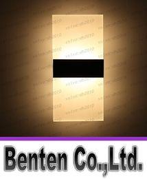 Nouveau LED Acrylique Mur Lumière Salon Salon Foyer Chambre Salle de Bains Éclairage LED Applique Murale Carré LED Balcon Allée Mur Lampe LLFA4805F ? partir de fabricateur