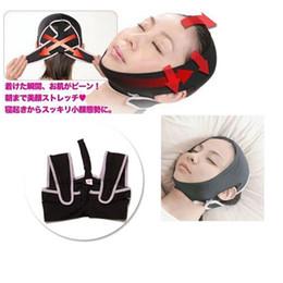 Wholesale Sagging Scalp - 20pcs Lot Hot new Slim Slimming Face Belt Shaping Cheek Scalp 3D Chin Uplift Sharp Anti Wrinkle Sagging Mask