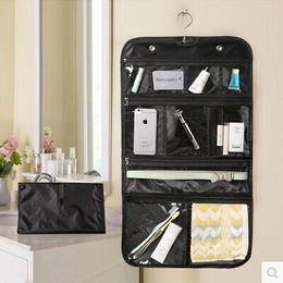 Wholesale Nice Travel Bags - 10PCS Waterproof Toiletry Travel Bag Makeup Cosmetic Organizer Folding Hanging Kit closure Usefull,space saving,portable and nice design