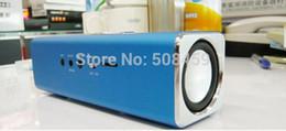 Wholesale Order Micro Sd - 2014 New Digital Portable Speaker Mini MP3 Player USB Disk Micro SD TF Card FM Radio Sound Box order<$18no track