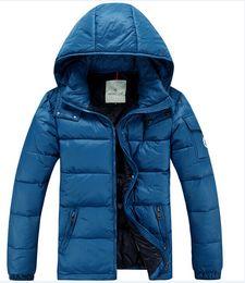 Wholesale Casual Dress Coat Men - Fashion Men Casual Down Jacket Coats Mens Outdoor Fur Collar Warm Feather dress Winter Coat outwear outer wear JACKETS AAA777