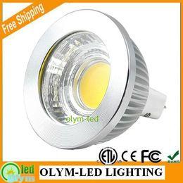 Wholesale Spot 12v Led 6w Mr16 - Wholesale 10Pcs Lot Hottest Seller COB LED MR16 12V Dimmable 6W 9W Warm White Spot Light Bulb Energy Saving CE RoHS ETL