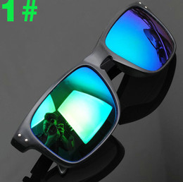 Wholesale Yellow Cycle Glasses - 1pcs Super Cool High quality Men Women Fashion Sunglasses Resin lenses Outdoor sports sun glasses Windproof cycling goggles