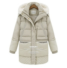 Wholesale Military Women S Dress - Wholesale-Girls 2015 new winter coat women jacket and long sections military dress down jacket wholesale trade Free shipping