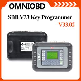 Wholesale V33 Sbb Key Programmer - DHL Free Shipping Newest Multilanguage Silca SBB v33 Newest Auto key Programmer SBB silica V33.02 key programmer SBB Key Pro Locksmith