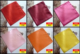 Wholesale Discount Chiffon Scarves - Wholesale-GAINA Clearance Sales 50*50 cm Solid Color Shawl Scarves Chiffon Bandanas Sheer Scarf Discount Scarves Soccer Scarf A010A