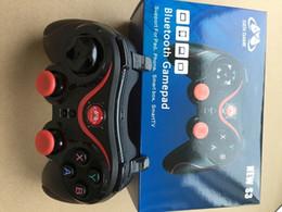 s3 tv telefon Rabatt Neue S3 Game Controller ausgestattet Handy-Halter GEN GAME Bluetooth Gamepad für Pad Android-Handy IOS iPhone Smart-Box TV Hinweis 7 8