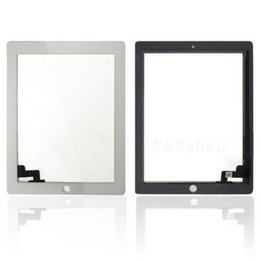Wholesale Ipad2 Screen Replacement - For Apple iPad 2 2nd A1395 A1396 Replacement Touch Screen Digitizer Glass black&white