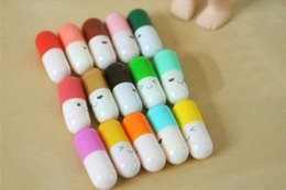 Wholesale Message Pills - Cute 50 Message Capsule Letter Cute Love Message in a Bottle Color Pill