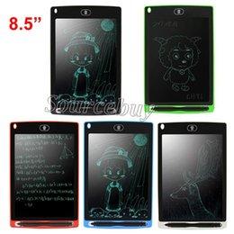 Paquete de gráficos online-Tableta de escritura LCD portátil inteligente de 8,5 pulgadas Tableta electrónica Gráficos de dibujo Tablero sin papel Tablero con Stylus Pen Batería Paquete al por menor