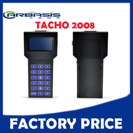 Wholesale Auto Correction - Hot Sale Tacho Pro 07 2008 Auto Scanner Odometer Dash Programmer Universal Car Mileage Correction Tool Unlock Version DHL Free shipping