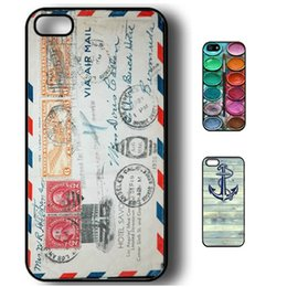 Wholesale Iphone Covers Tribal Pattern - S5Q Tribal Retro Pattern Hard Case Cover Snap On Back Skin Protector For iPhone 5 5S AAACHV