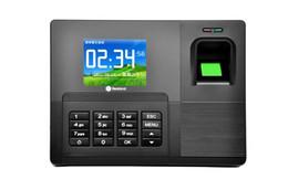 Wholesale Rfid Tcp Ip - 2.8 inch TFT Biometric fingerprint punch clock TCP IP+RFID Card Read +USB Recorder Biometric Time Attendance