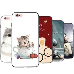 Wholesale Romance Paintings - Case for Apple Iphone 6 6S Plus SE TPU Frosted Mobile Shell Sweet Romance Painting Cell Phone Cover
