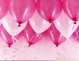 Высокое качество Бесплатная доставка 200 шт. / лот латекс гелий надувной утолщение Жемчужина свадьба и 1-й день рождения воздушный шар от