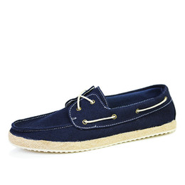 Wholesale Classic Designer Sperry Men Footwear Fashion Lace Up Boat Shoes Mens Sapatenis Size to Light Blue Yellow Gray