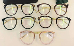 Wholesale Linda Farrow - Top quality LINDA FARROW spectacle frame round flat box using the LFL restoring ancient ways men and women   251 2 glass frame