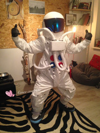 Wholesale Character Mascot Costumes For Sale - customized mascots high quality funny Astronaut mascot costume adlut outfits Space suit cartoon character mascots for sale