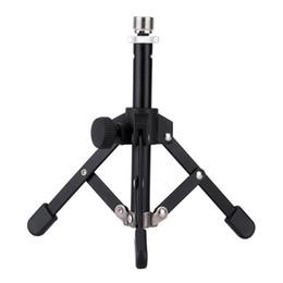 Alta calidad MS-12 Mini plegable Mesa de escritorio Trípode micrófono Mic Soporte del soporte desde fabricantes