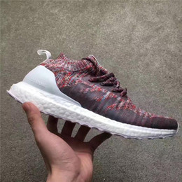 Wholesale Leather Shoelaces - KITH x Ultra Boost Mid Aspen Multicolor Real Boost Sports Shoes UB Running Shoes Original Quality Sneakers With Box And Other shoelaces
