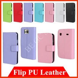 Wholesale Covers Galaxy Zoom - Flip wallet Leather PU Card Slot Case cover for Samsung Galaxy Alpha A3 A5 Xcover ACE 4 GIO K Zoom Young For Google Nexus 6 Motorola Moto X