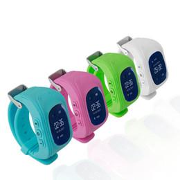 Montre-bracelet de localisation pour enfant en Ligne-Professionnel Q50 OLED Affichage Enfants Enfants Smart Watch Wrist Watch GPS Tracker Locator Anti-Perdu Étanche Smart Watch Drop Shipping
