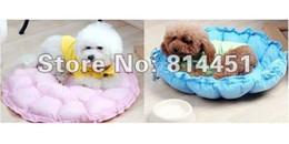 Wholesale Dual Pet Beds - Wholesale-Round Dog Cat Pet Bed Dual Purpose Nest Unique Soft Pad Sofa Colorful Pet Cat Dog Bed Round Kennel