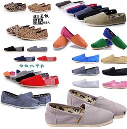 Wholesale outlet women shoes - factory Outlet 2017 hot Size 35-45 New Brand Fashion Women Flats Shoes Sneakers Women and Men Canvas Shoes loafers casual shoes Espadrilles