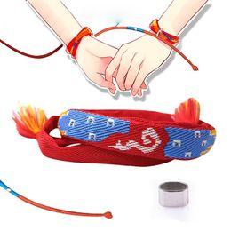 2019 персик строп Дженпэна один фильм ва Кими нет на ваше имя Miyamizu Mitsuha браслет ювелирные изделия подарок косплей