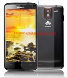 Wholesale Ascend D1 - Wholesale-1 x Matte Anti-glare Anti glare Screen Protector Film Guard Cover For Huawei Ascend D1 XL U9500 U9500e U9510 U9510e T9510e