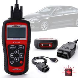 Wholesale Vw Scanner Software - OBD2 Scanner KW808 Car Diagnostic Code Reader CAN Engine Reset Scan Tool Live Data KONNWEI
