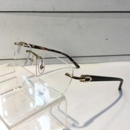 Wholesale vintage eyeglasses for men - Luxury Glasses For Men And Women Prescription Eyewear Vintage Frame Men Brand Design Eyeglasses With Original Case Retro Design Gold Plated