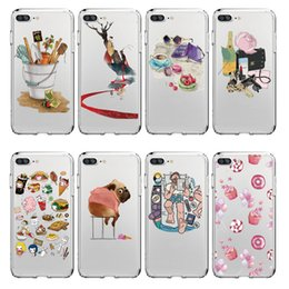 Wholesale Puppy Paintings - Mix Wholesale Phone Case Naughty Puppy Painted Pattern Phone Case For Iphone Samsung Huawe And All The Smartphones