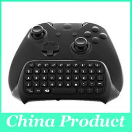 Mini bluetooth del controller di gioco online-Tastiera controller wireless per messaggi Chatpad Mini Bluetooth per controller Xbox One con ricevitore 2.4G 010211